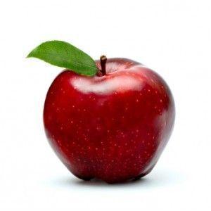 la pomme rouge sucree neutralise les gazs malodorants